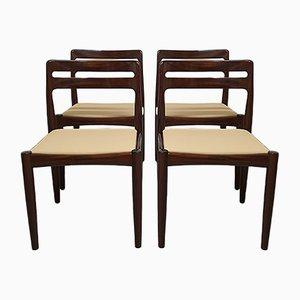 Mid-Century Esszimmerstühle von H. W. Klein für Bramin, 4er Set
