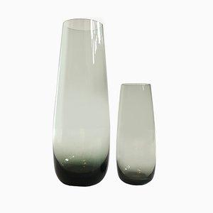 Mid-Century Vasen von Wilhelm Wagenfeld für WMF, 2er Set