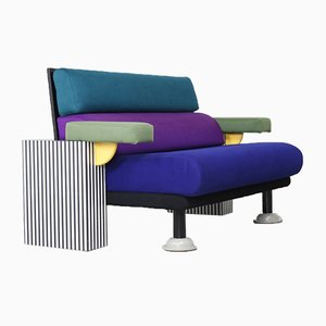 Postmodern Lido Sofa by Michele De Lucchi for Memphis, 1982