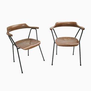 Vintage Modell 4455 Esszimmerstühle von Niko Kralj für Stol Kamnik, 2er Set