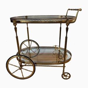 Chariot de Bar par Maison Jansen, années 60