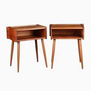 Tables de Chevet, années 70, Set de 2