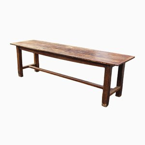 Antique Fruitwood Farmhouse Dining Table