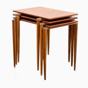 Stackable Nesting Tables from Opal Möbel, 1960s, Set of 3