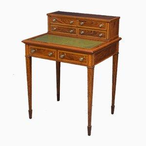 Edwardianischer Schreibtisch aus Palisander