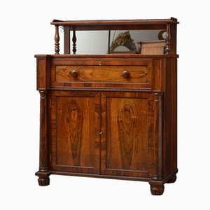 Antique Regency Rosewood Chiffonier with Secretaire Section