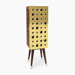 Monocles Tall Cabinet by Essential Home