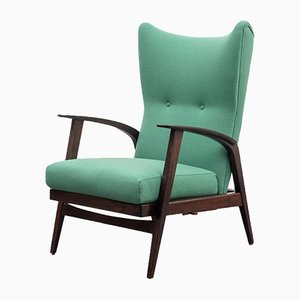 Vintage Wing Chair by Knoll Antimott, 1950s