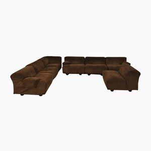 Modulares Vintage Sofa von Vico Magistretti für Cassina, 7er Set