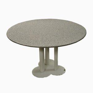 Tisch mit kleeförmigem Fuß von Sergio Asti für Poltronova, 1970er