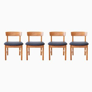 Dining Chairs by Børge Mogensen for Fredericia, 1960s, Set of 4