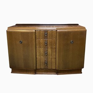 Art Deco Oak Sideboard, 1930s
