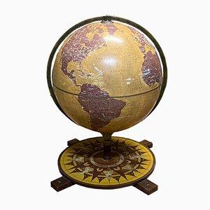 Wood Globe from Zoffoli, 1980s
