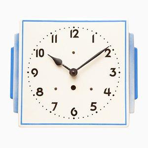 Ceramic Wall Clock, 1940s