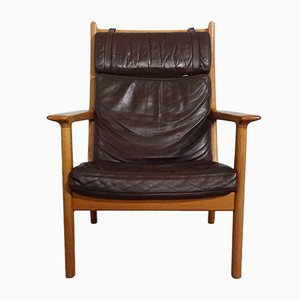 Oak GE 265A Armchair by Hans J. Wegner for Getama, 1970s