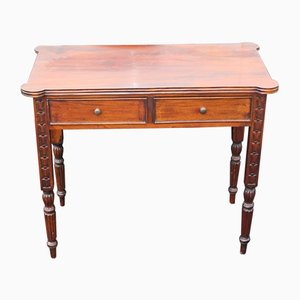 Antique Mahogany Side Table, 1910