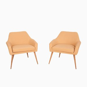 Polish Armchairs, 1960s, Set of 2