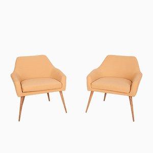 Polnische Sessel, 1960er, 2er Set