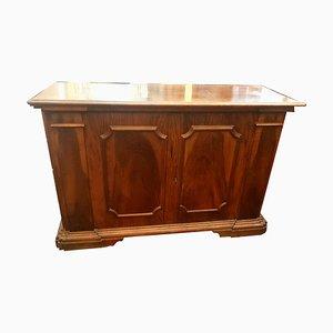 Antikes italienisches Sideboard aus Nussholz