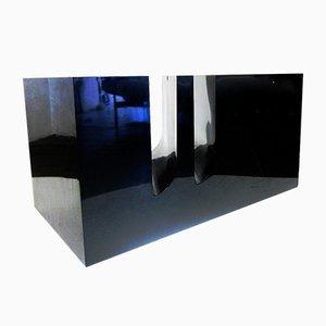 Tavolino da TV in plastica di Marco Zanuso per Bilumen, anni '70