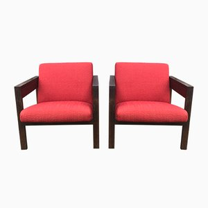 SZ25 Armchairs by Hein Stolle for t Spectrum, 1950s, Set of 2