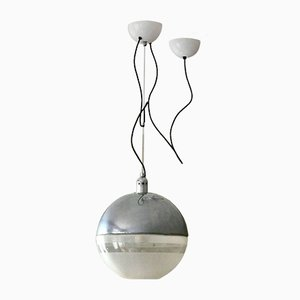 Lámpara de techo era espacial de Fabio Lenci para Guzzini, años 70