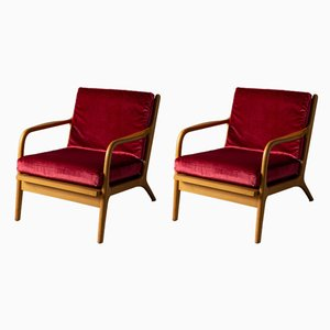 Model 2315 Armchairs by Adrian Pearsall for Craft Associates, 1960s, Set of 2