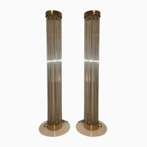 Floor Lamps from Kamenický Šenov, 1960s, Set of 2