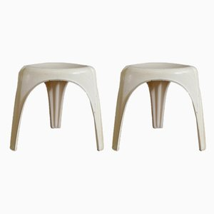Tripod Stools by Walter Frey, 1960s, Set of 2