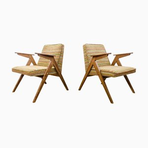 Model 300-177 Lounge Chairs from Dolnośląskie Furniture Factories, 1970s, Set of 2