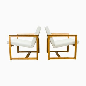 Model R5 Armchairs, 1970s, Set of 2