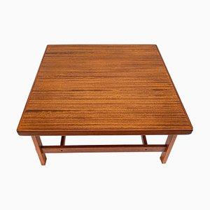 Mid-Century Teak and Oak Coffee Table