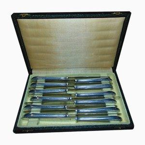 Cuchillos Solingen vintage de acero. Juego de 12