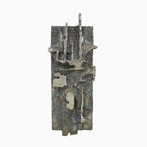 Iron Wall Sculpture by Bertil Lengstrand, 1960s