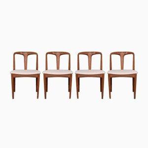 Chaises de Salle à Manger par Johannes Andersen pour Uldum Møbelfabrik, années 60, Set de 4