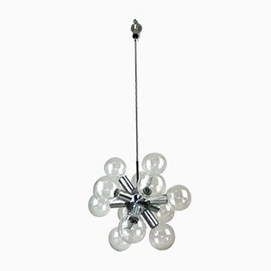 Sputnik Chandelier by J. T. Kalmar for Kalmar, 1960s