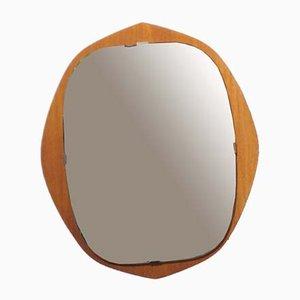 Scandinavian Teak Mirror, 1960s