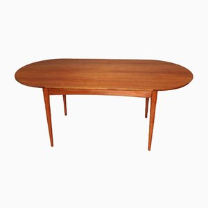Oval Teak Dining Table by Frank Guille for Austinsuite, 1960s