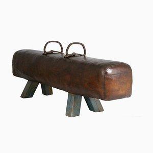 Pauschenpferd aus Leder, 1920er