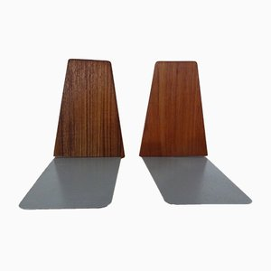 Danish Teak by Kai Kristiansen for Feldballes Møbelfabrik, années 60, Set of 2