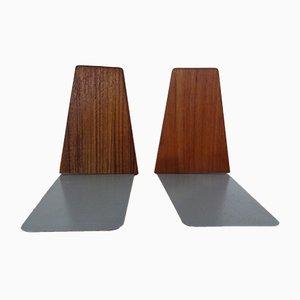 Tavolo in teak di Kai Kristiansen per Feldballes Møbelfabrik, Danimarca, anni '60, set di 2
