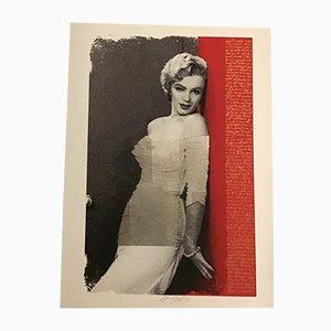 Cartella Marilyn Monroe di Grittini Giuliano per Art Atelier Milano, anni '70, set di 3