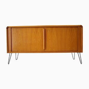 Danish Upcycled Tambour Sideboard by Poul Hundevad for Hundevad & Co., 1960s