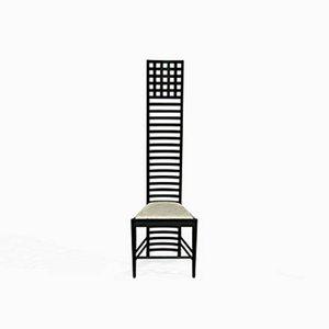 Modell 292 Hill House Esszimmerstuhl von Charles Rennie Mackintosh für Cassina, 1970er