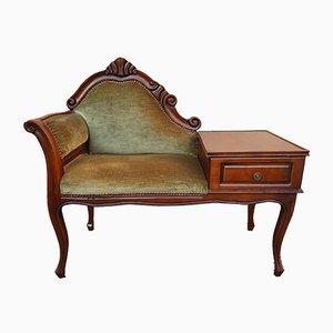 Mid-Century Telephone Seat