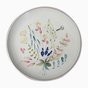 Mid-Century Plate by Stig Lindberg for Gustavsberg