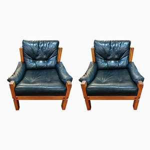 S15 Armchairs by Pierre Chapo, 1950s, Set of 2
