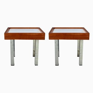 Sofa End Tables, 1960s, Set of 2