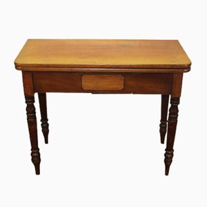 Antique Edwardian Mahogany Tea Table