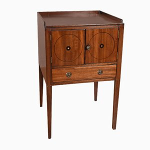 Antique Georgian Mahogany Nightstand